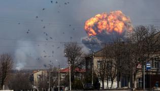 Wybuch w składzie amunicji