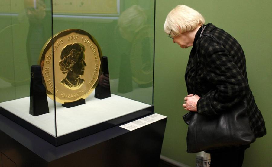 100 kilogramowa moneta
