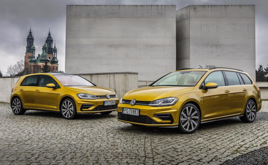 Volkswagen golf - 2. miejsce w zestawieniu