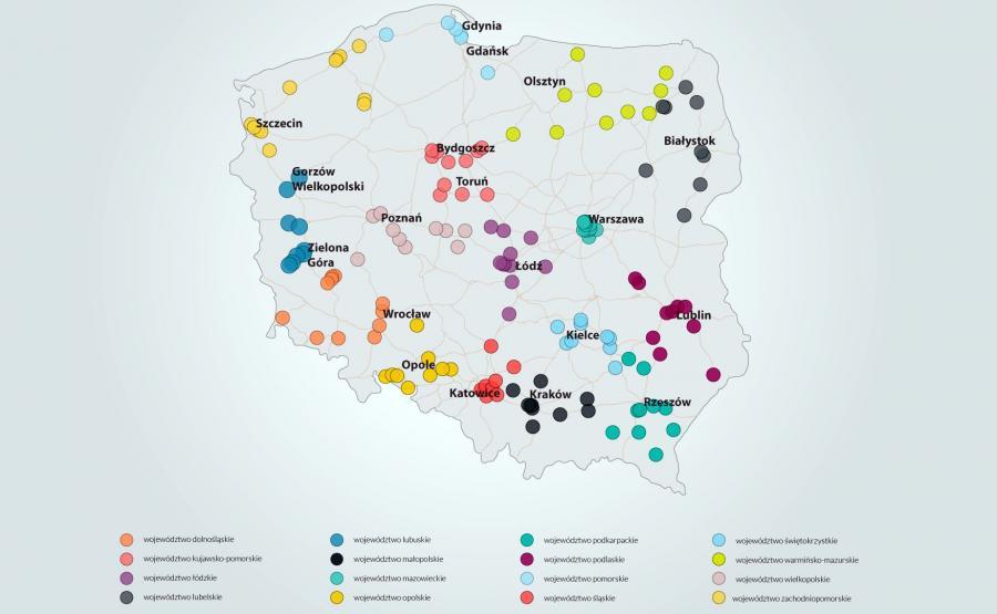 Miejsca najczęstszych kontroli prędkości w Polsce
