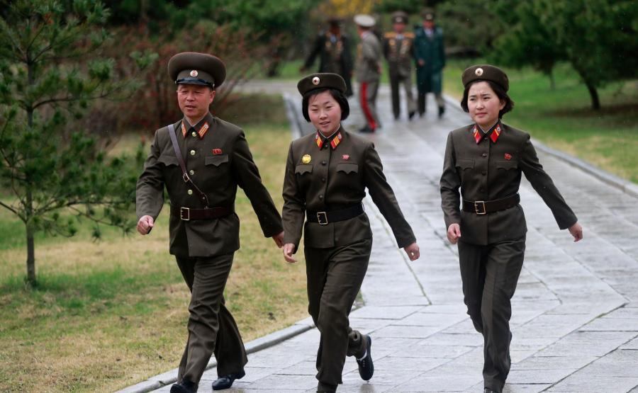 Koreańscy żołnierze