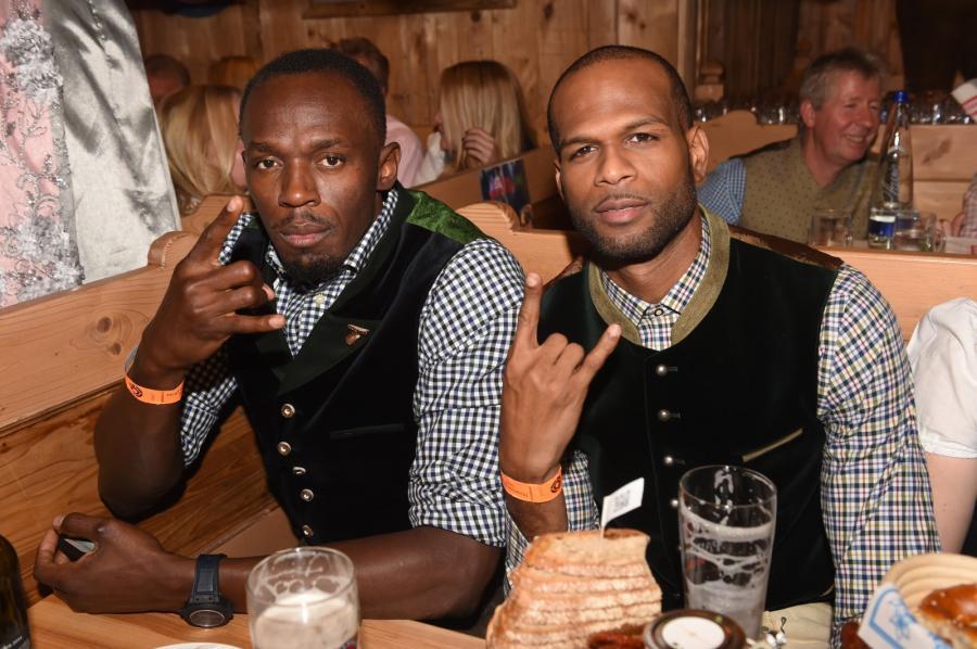Usain Bolt i Germaine Mason