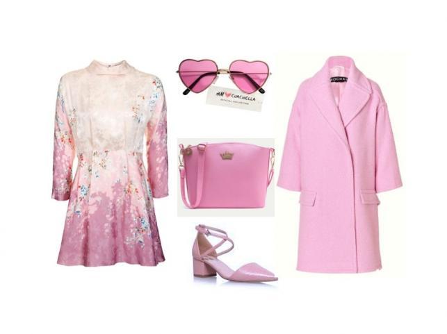 Pink is the new black. STYLIZACJE