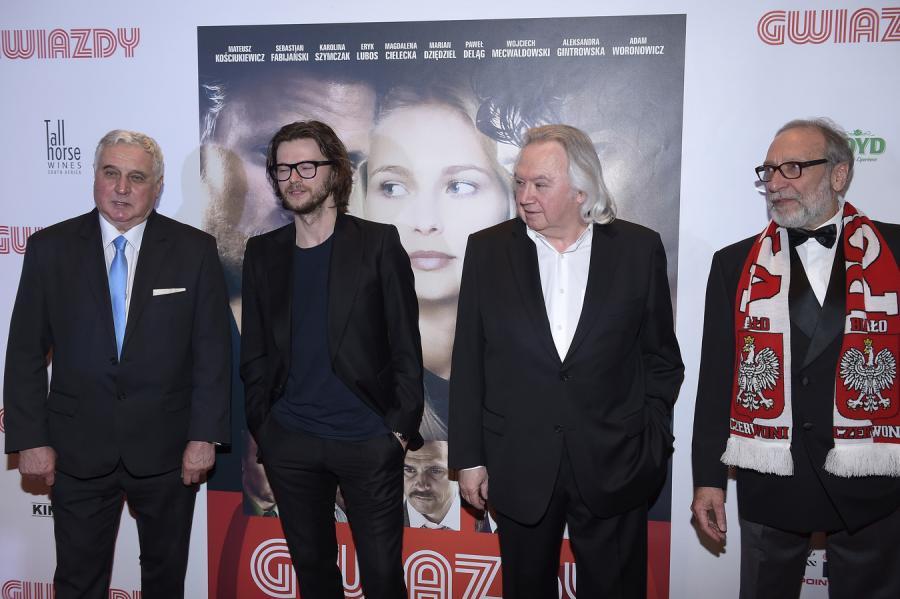 Jan Banaś, Mateusz Kościukiewicz, Andrzej Serdiukow i Jan Kidawa-Błoński
