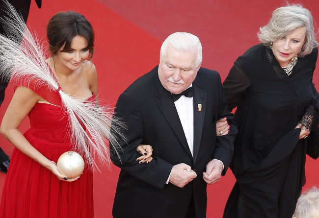 Na czerwonym dywanie w Cannes