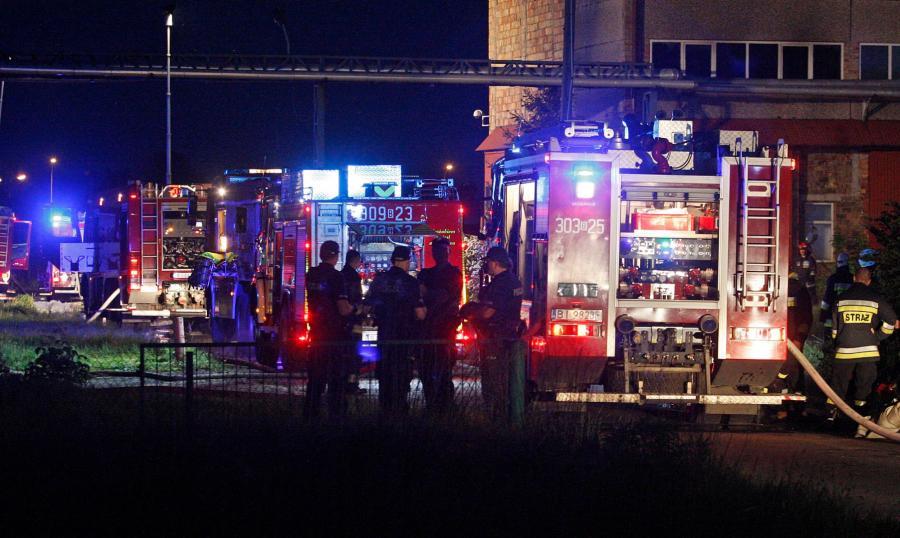 Pożar w Białymstoku
