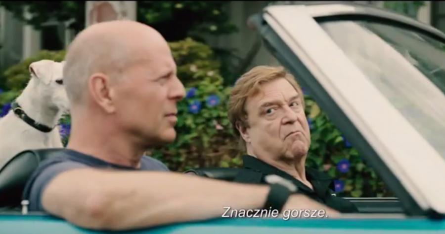 John Goodman oraz Bruce Willis w komedii \