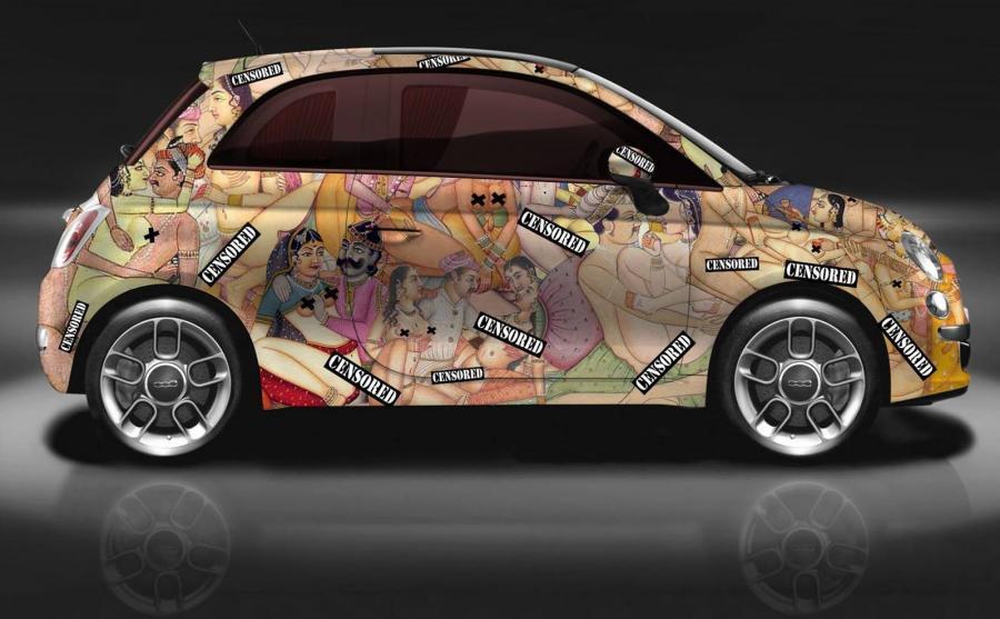 Fiat 500 w scenach z Kamasuty