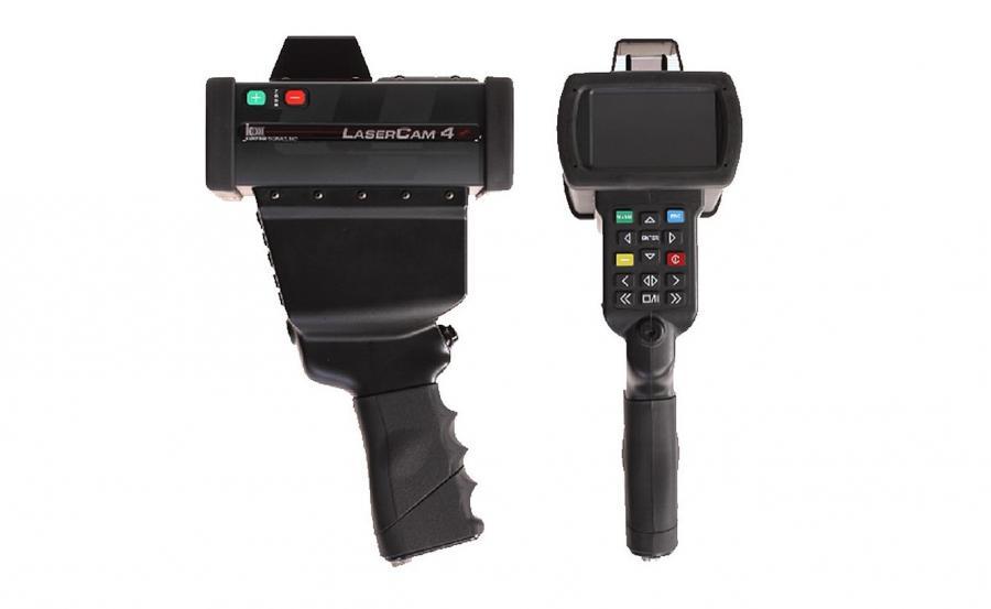 Dla wygody pracy z LaserCam 4 dostępny jest wspornik ramienny oraz adapter do pracy na statywie