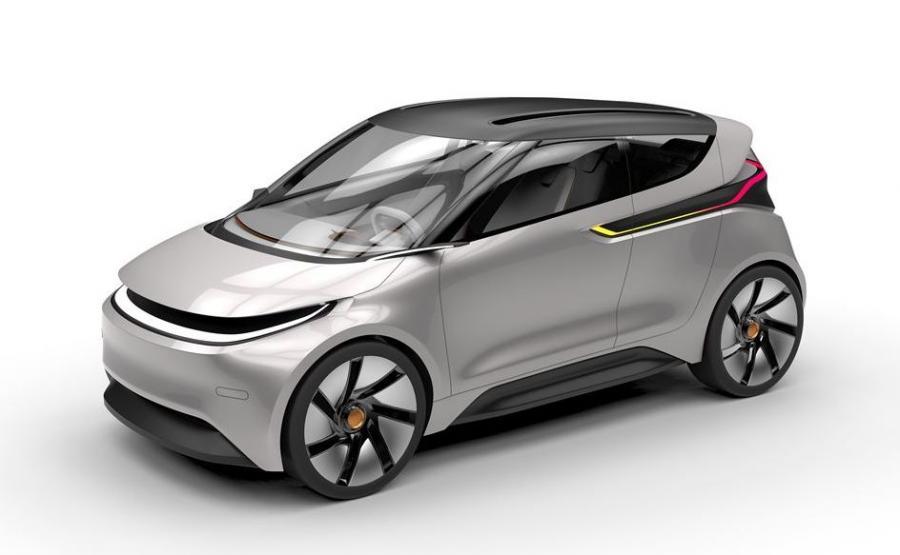 Mateusz Tomiczek wymyślił sobie, że tak będzie wyglądać polski samochód elektryczny. Ładny?