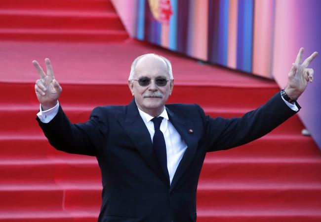 Nikita Michałkow na otwarcie 39. Moskiewskiego Międzynarodowego Festiwalu Filmowego