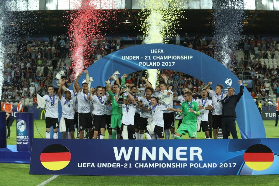 Piłkarze reprezentacji Niemiec zostali młodzieżowymi mistrzami Europy
