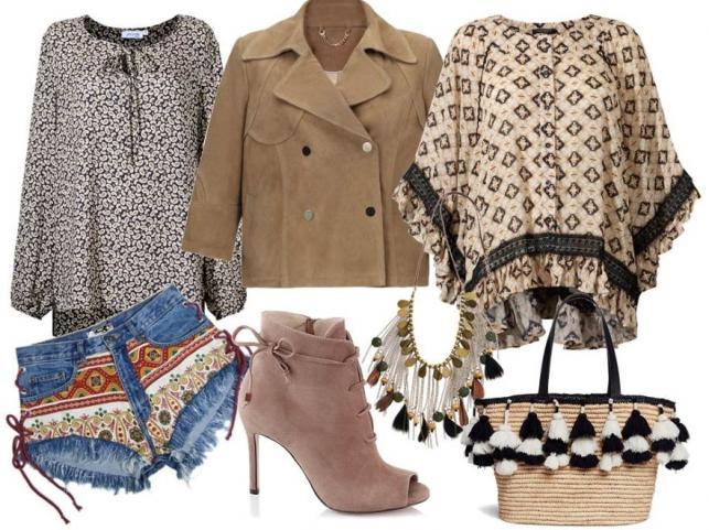Ubrania w stylu etno