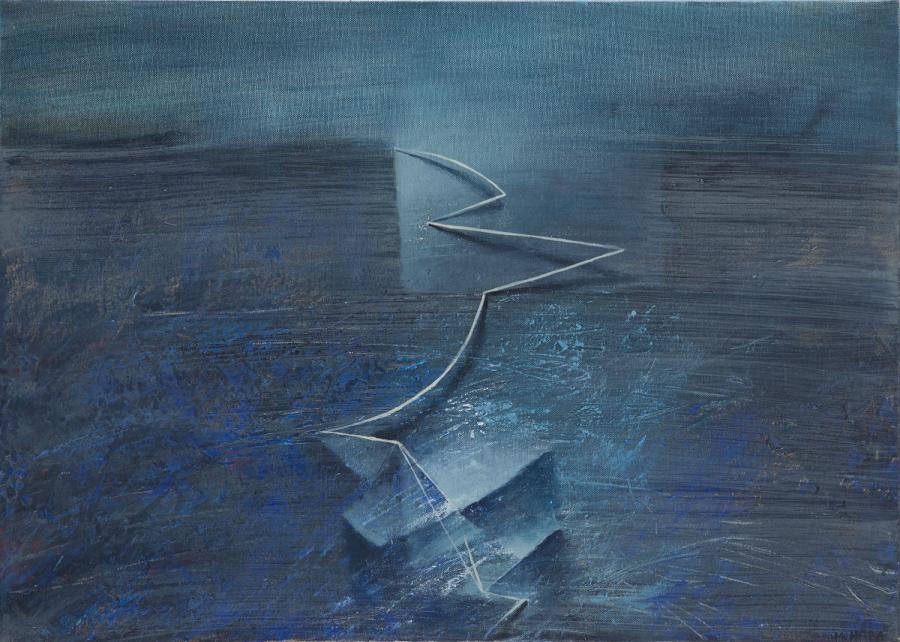 Marek Haba – Pejzaż z białą linią