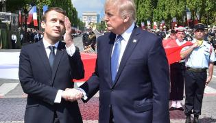 Macron i Trump