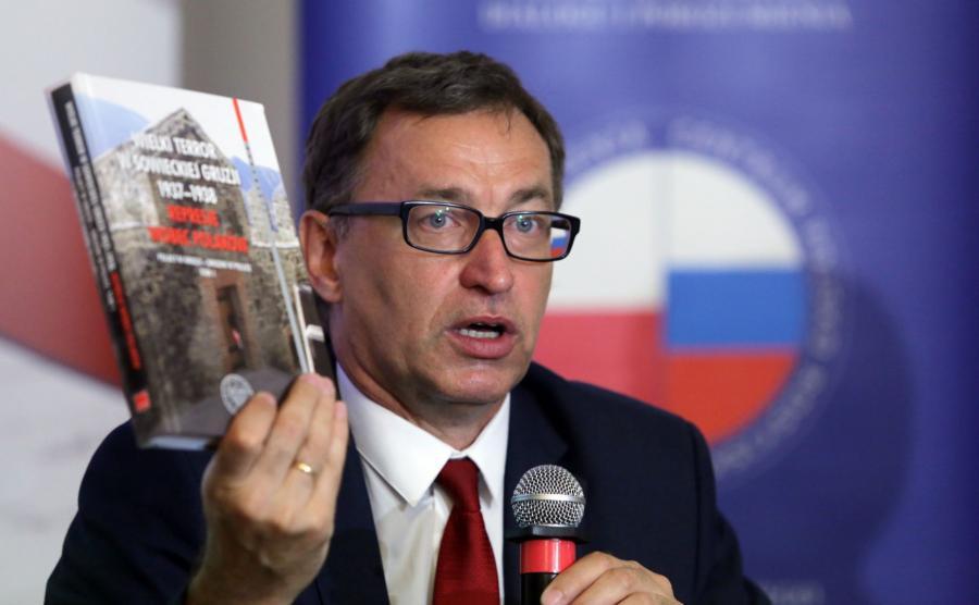 Jarosław Szarek, prezez IPN