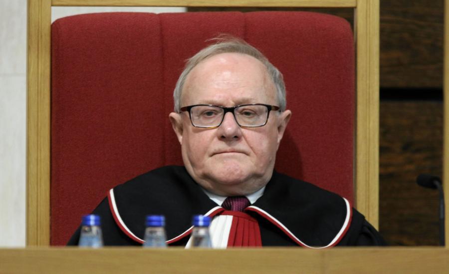Prof. Stanislaw Biernat były wiceprezes Trybunalu Konstytucyjnego