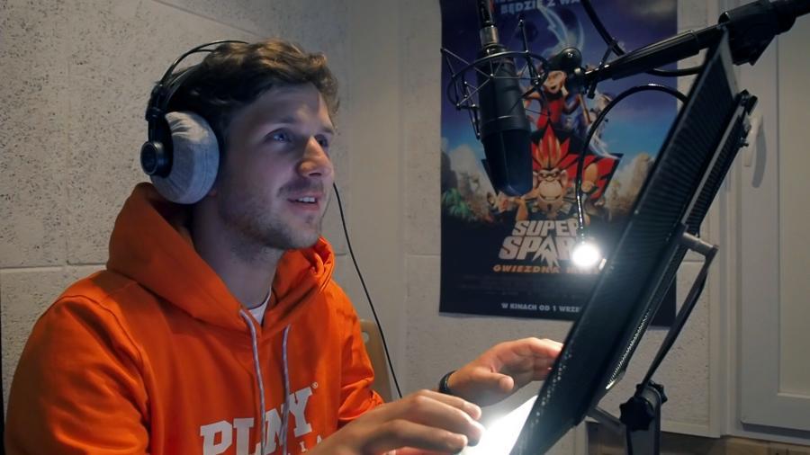 """Antek Królikowski użycza głosu w filmie """"Super Spark: Gwiezdna misja"""""""
