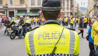 Policja w Barcelonie