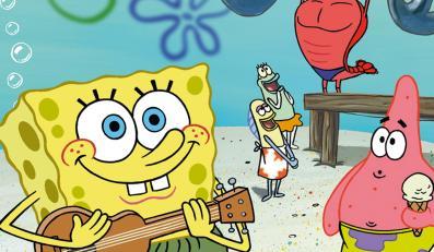 SpongeBob Kanciastoporty - jeden z animowanych wywrotowców