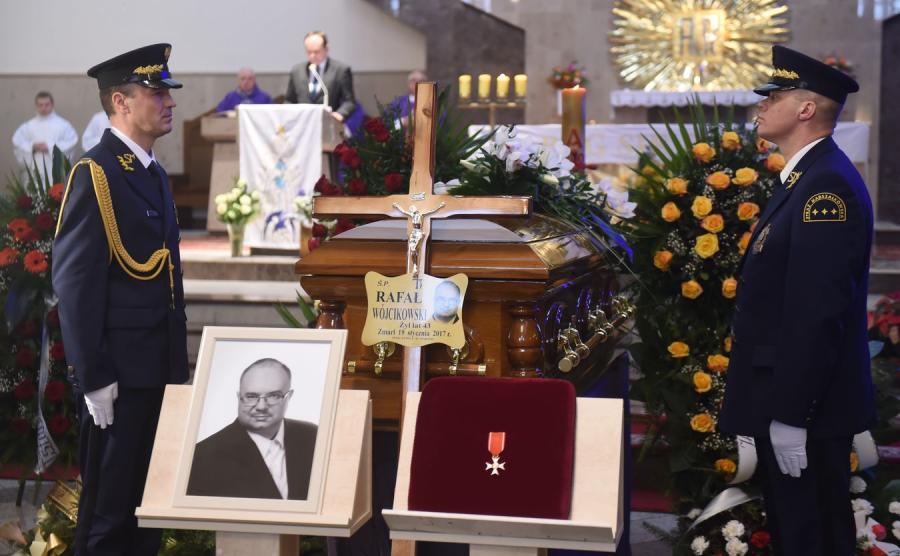 Pogrzeb Rafała Wójcikowskiego