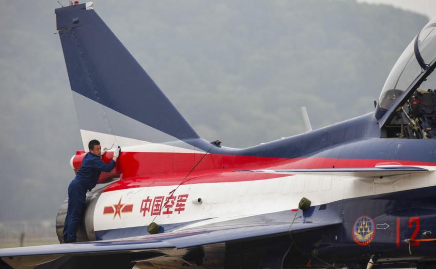 Chiński samolot bojowy
