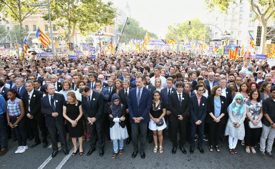 Manifestacja w Barcelonie