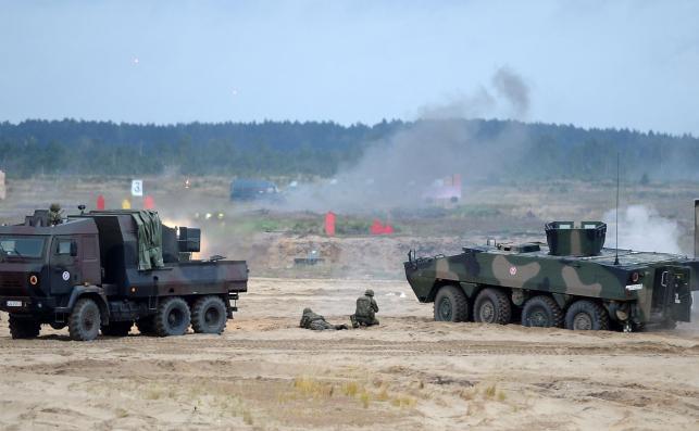 XXV Międzynarodowy Salon Przemysłu Obronnego. Transporter opancerzony Rosomak