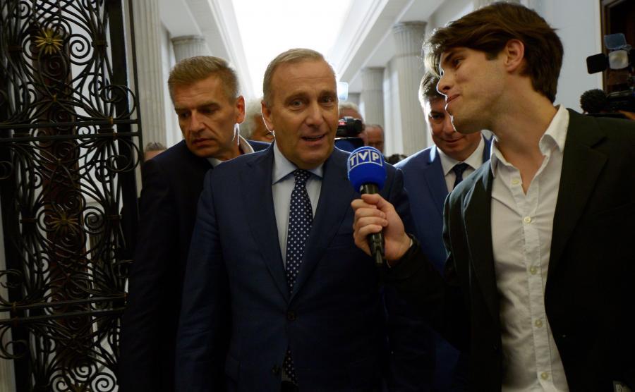 Filip Styczyński i Grzegorz Schetyna