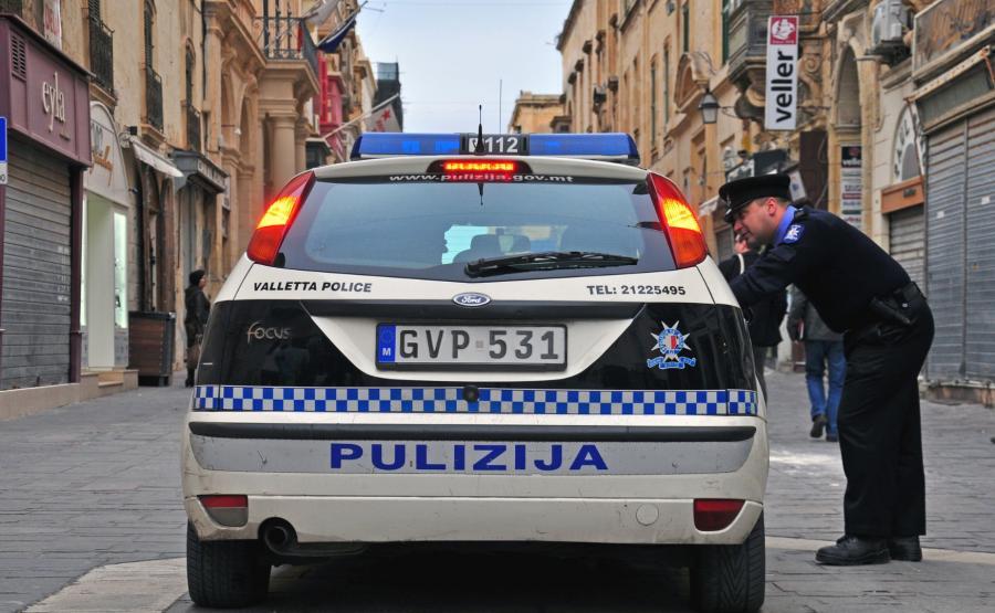 Radiowóz maltańskiej policji