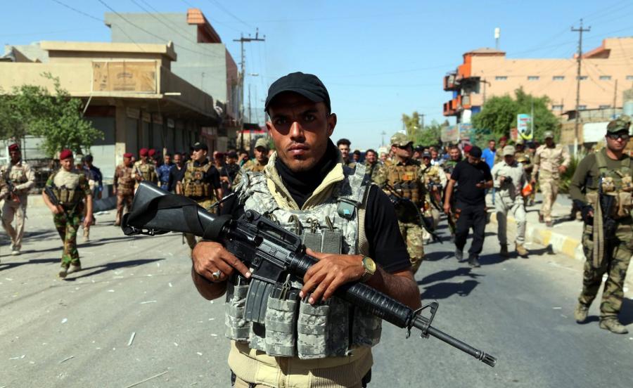 Szyicka milicja w Kirkuku