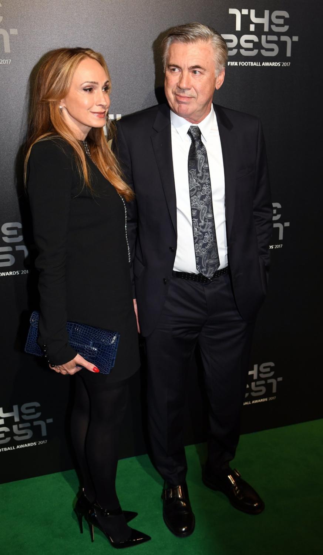 Carlo Ancelotti i Mariann Barrena