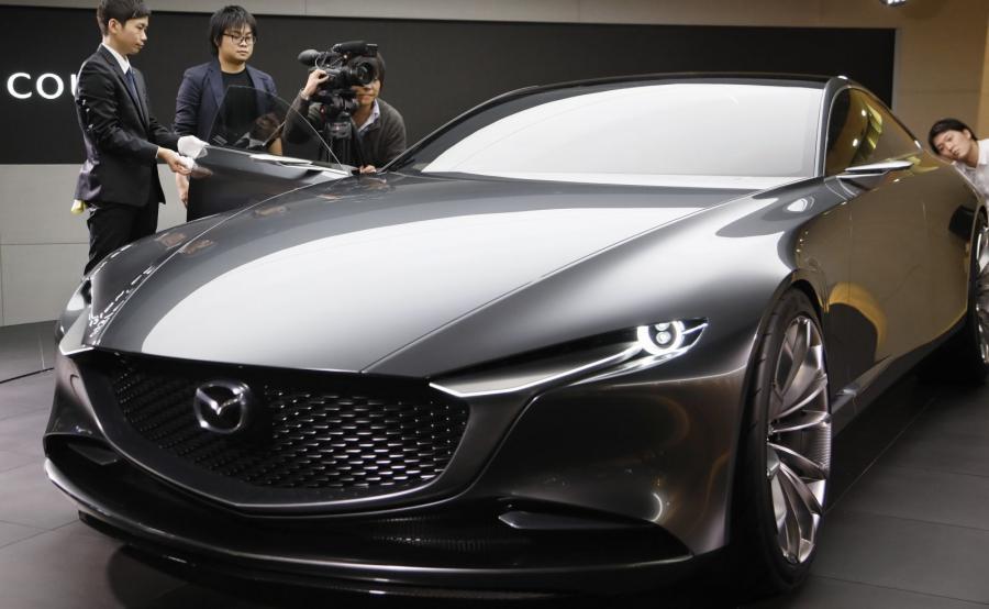 Mazda Vision Coupe to w ocenie projektantów ideał elegancji. Samochód jednoznacznie kojarzący się z najlepszym japońskim designem