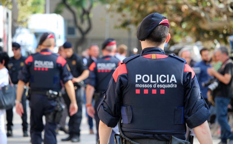 Katalońska policja