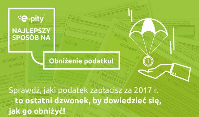 Zadbaj o obniżenie podatku PIT 2017