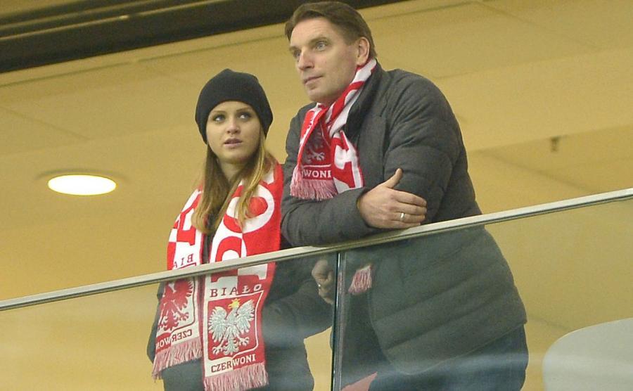 Pola Lis i Tomasz Lis