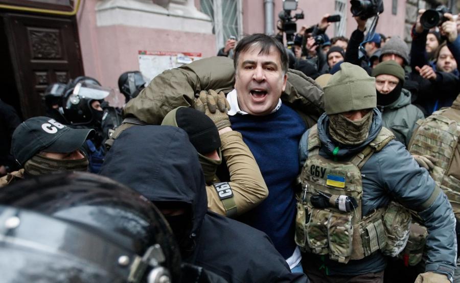Micheil Saakaszwili aresztowany