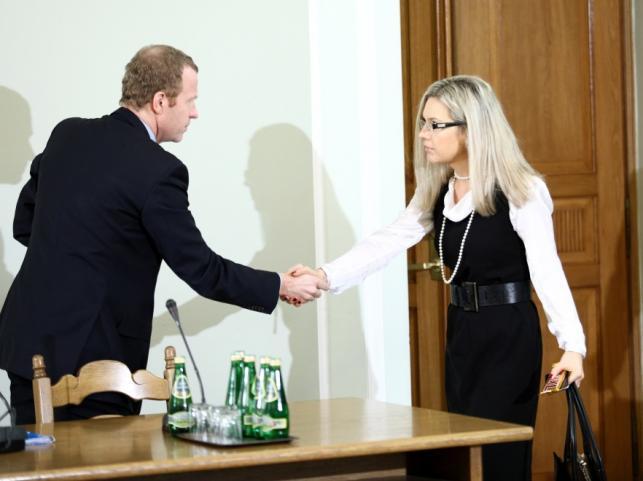 Michał Deskur i Małgorzata Wassermann