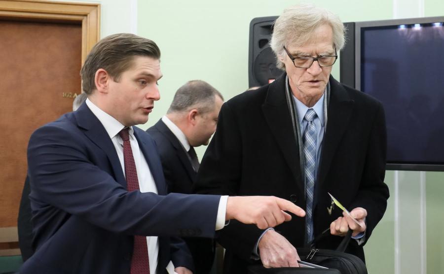 Bartosz Kownacki i Kazimierz Nowaczyk