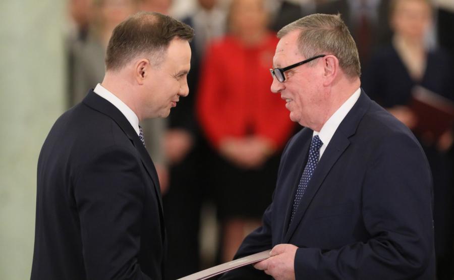 Powołanie ministra środowiska Jana Szyszko