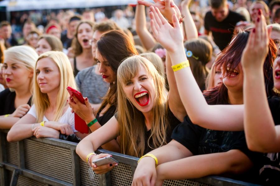 Publiczność na CieszanówRock Festiwal. fot. Ewelina Wójcik