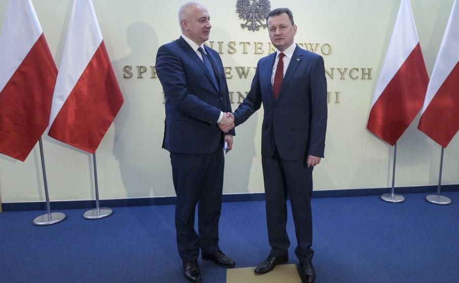 Joachim Brudziński i Mariusz Błaszczak