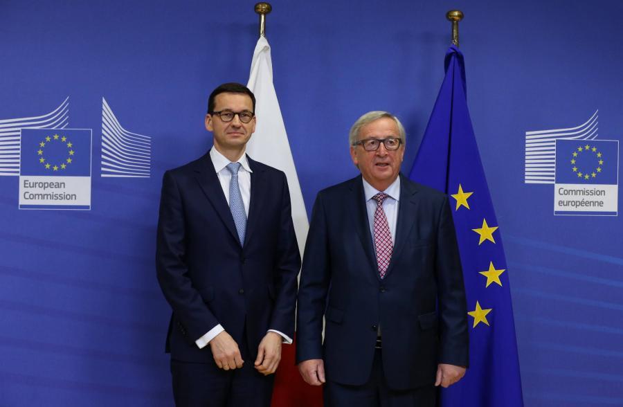 Morawiecki i Juncker