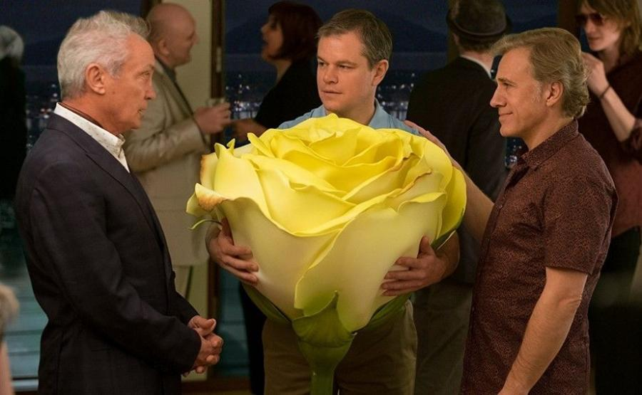 Udo Kier, Matt Damon i Christoph Waltz