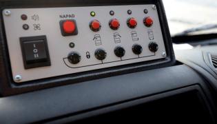 Citroen Jumper bankowóz - auto wyposażono w elektroniczne systemy zabezpieczenia