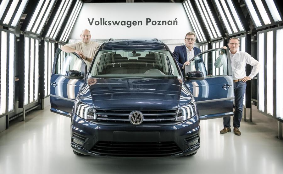 Następca obecnie produkowanego w Poznaniu modelu VW Caddy pojawi się w 2020 roku