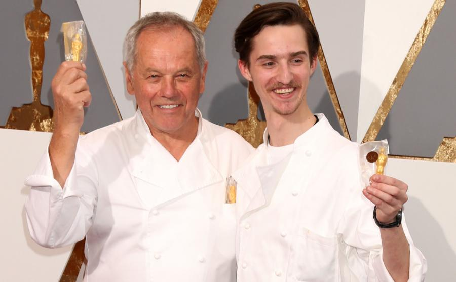 Wolfgang Puck oscarowe menu przygotowuje wraz ze swoim synem