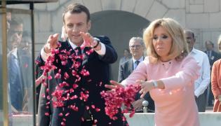 Emmanuel i Brigitte Macronowie