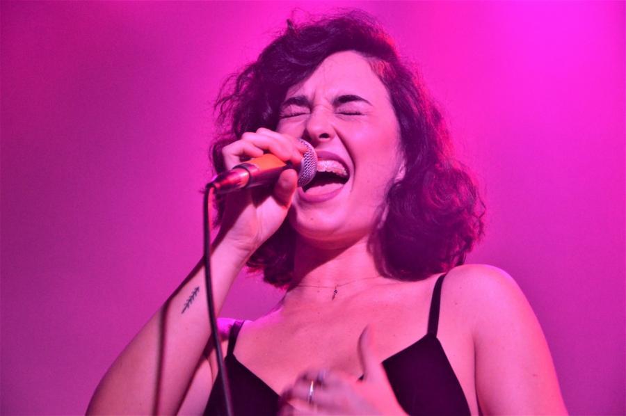 Marcelina gościnnie u Buslava. Koncert w klubie Niebo, Warszawa; 14.03.2018