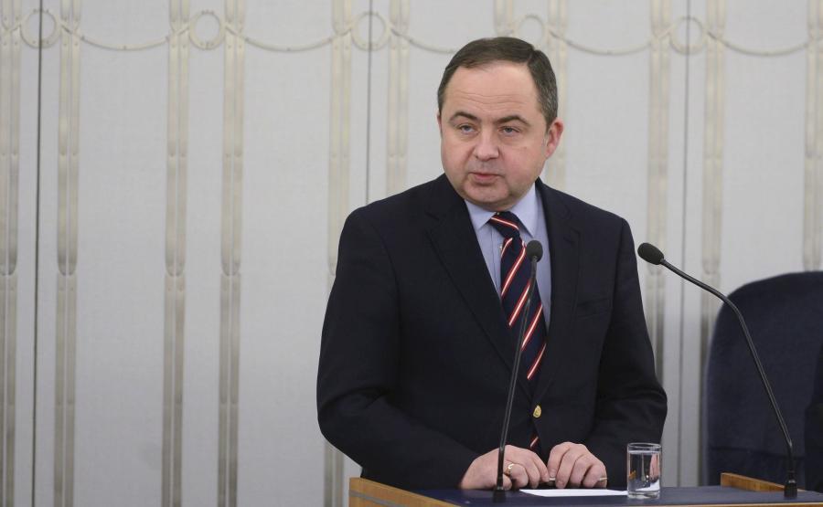 wiceminister Konrad Szymański